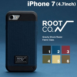 ルート ROOT CO. GRAVITY SHOCK RESIST FABRIC CASE. for iPhone7 アイフォンケース iPhone7 CASE GSF7