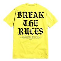 MENACE LA-メナス・ロサンゼルス/BREAK THE RULES[Yellow]T-SHIRT