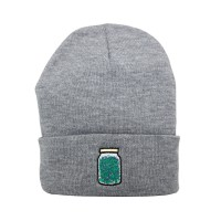 THE HIGH RISE-ハイライズ/Purple Jar Beanie(Grey/グレイ)ビーニー
