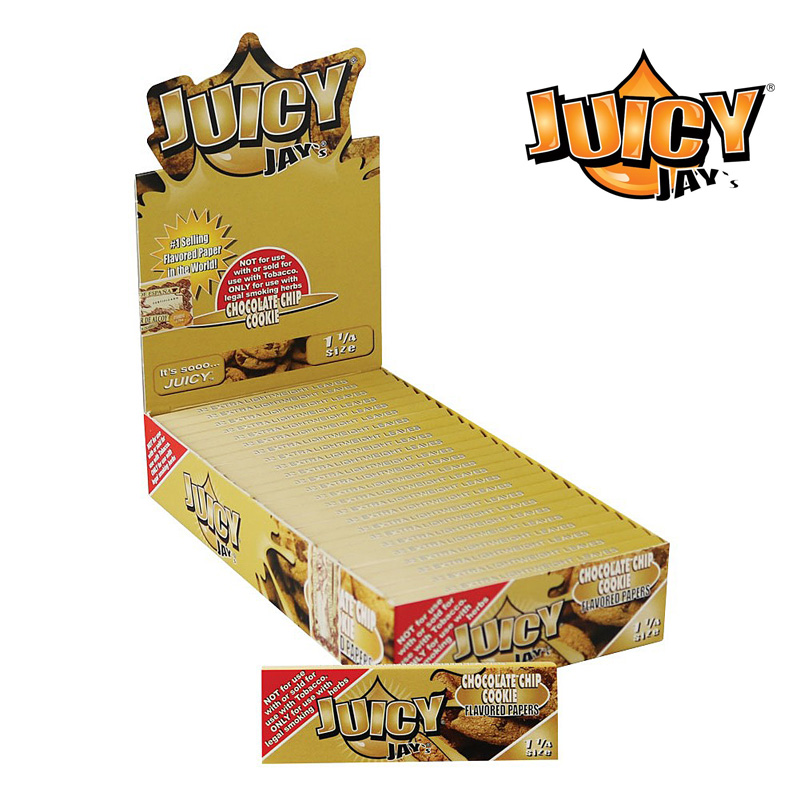 """Juicy Jay's"" 11/4 Rolling Paper(Chocolate Chip Cookie-チョコレートチップクッキー)-""ジューシージェイ"" 11/4 ローリングペーパー/巻紙"
